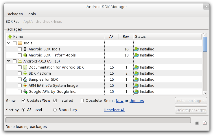android-sdk-manager